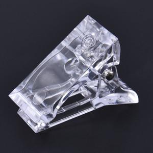 1 stücke Kristall Nail art Form Fixing Clip Schnell Trockener Verlängerung Klebstoff Umformungsclip Acryl Nagelzubehör Für Profis Werkzeuge Werkzeuge