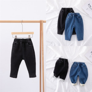 13W90 Customize Clothing Patches On Badge boy jeans kid pant child trouser korean Add velvet Embroidery Iron Stickers Keep warm Patches