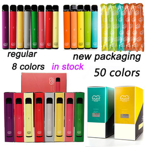 Puff più dispositivo monouso Pods Vuoto Penne VAPE Vuoti 3.2ml Cartucce 550mAh Batteria Puffplus Starter Kit 50 colori