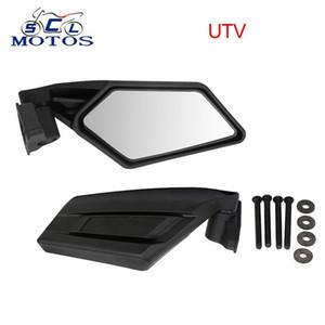 SCLMOTOS-UTV Sağ Sol Dikiz Yan Aynalar Motosiklet UTV ATV Dikiz Aynası için Polaris XP 900 XP 800 RZR1 için