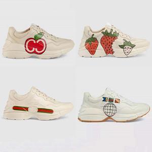 La nouvelle ligne de la marque Rhyton imprimé Vintage? Entraîneur? Homme Femmes Sneaker Chaussures Casual est une paire de chaussures 2020 rython papa G150 02