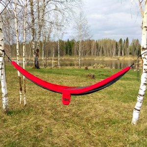 Double 2 Person camouflage Ultralight Travel Parachute Home Hammocks Outdoor Camping Hammock Sports Leisure Travel Hang Bed1