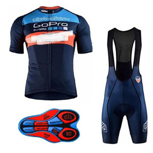 KTM 2018 Summer Cycling Jersey Breathable Bicycle Clothes Ropa Ciclismo Bike Bib Shorts Set Sportswear clothing a369