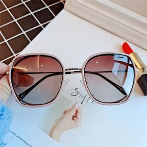 2020 Women's Korean Version of The Sunglasses Retro Vintage Round Face Thin Sunshade Driving Sun Glasses Eyeglasses UV