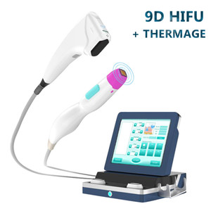 New design 3d hifu face lifing hifu Non-invasive Wrinkle Removal 9D HIFU focused ultrasound thermage Skin Rejuvenation beauty equipment