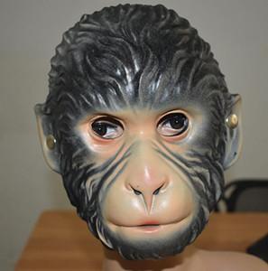 Máscaras de Eva Macaco do partido dos desenhos animados Lobo animal Tiger Halloween Xmas Fun Adultos infantil Máscara do vestido extravagante Acessório Facial