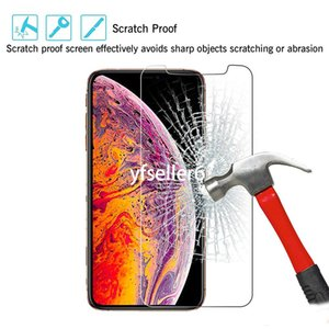 Tempered Glass For iPhone 11 Screen Protector , Mobile 9H 2.5D Glass Screen Protector For iPhone 12 Screen Protector