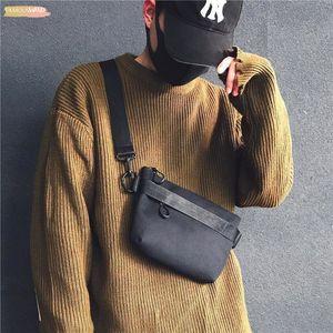 Mens Casual Messenger Bag Ins Canvas Sports Small Satchel Tide Brand Shoulder Bag Women Postman Bag Lovers Disco