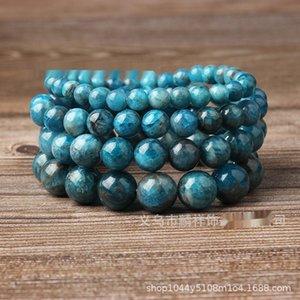 apatite braceletSubmarine apatite naturelle micro Taotao bracelet mode chaud énergie roue sous-marine femme Bracelet X7d4b