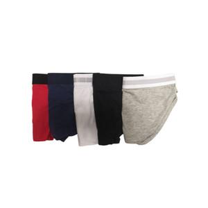 Nouveaux mémoires hommes Sous-vêtements Sexy Hommes Shorts Homme respirant Gay Slips Soft Coton Slips Garçons Cueca Colorful Mode Homme Bikini Homme Bikini
