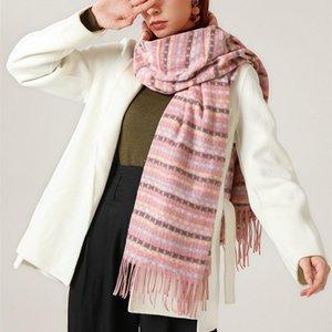 2020 NEW fashion cashmere women plaid scarf winter warm shawl and wrap bandana female foulard long thick blanket