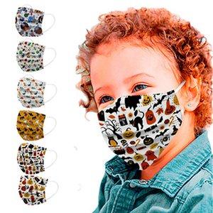 Kids Face Masque Dessin animé Imprimé Visable Visable Visable Masque Couvre-bouche Mignon Carton Imprimer personnalité Masques IIA847