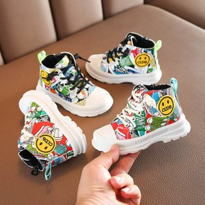 New Cartoon baby shoes casual baby boots fashion toddler shoes infant shoes Martin boots toddler boots boys Martin boot ankle boot B2216