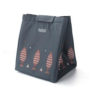 Heat preservation Pack Extra Thick Handbag Bento Bag Small Fish Insulation Bag Outdoor Picnic Insulation Cold Portable Ice Bag 171 K2