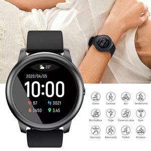 Xmas presente Haylou Solar Smartwatch LS05 IP68 impermeável relógio inteligente Mulheres Homens aptidão Watche para Android IOS Haylou LS05 Free Ship