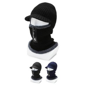 Cycling Caps Winter Warm Knitted Hats Thermal Bicycle Cap Headwear Gorra Ciclismo Windproof Running Skiing Bike Caps