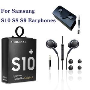 Mic ile samsung AKG EO-IG955 Kulaklık 3.5mm kulak için Galaxy S10 S9 S8 için kablolu kulaklığı