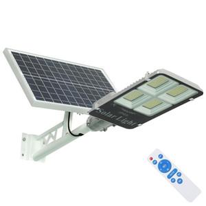 Umlight1688 Led Solar Rua Jardim Luz 200w 300w Lâmpada Solar Battery Energia Solar Powered Led Light Outdoor