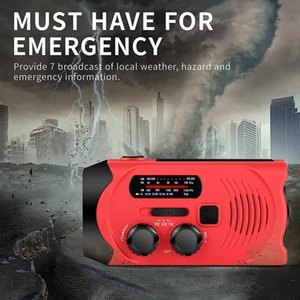 광저우 Juropin 충전식 포켓 마이크로 라디오 디나모 태양 크랭크 전원의 USB 충전기 비상 핸드 크랭크 발전기