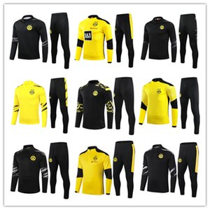2020 2021 Borussia Couscsuit 2020/21 Dortmund Chandal Futbol Sweartement de Футбольный Учебный костюм Безвозмездная Chandal Polo Kit