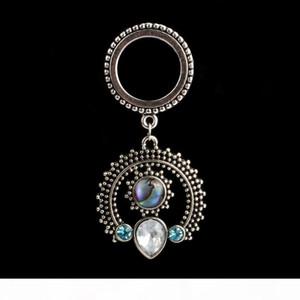 2016 new helix dangle ear plugs piercing body jewelry stainless steel ear gauges free shipping tunnels earrings