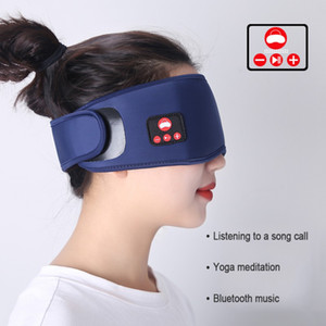 2020 New Hot Wireless Sleep Eye Mask Bluetooth 5.0 3D Stereo Sleeping Eyes Cover Shades Support Handsfree Call Music Blackout Goggles