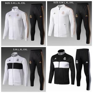 2019 Реал мужских толстовок куртка Bale костюмы опасности ветровки футбол Майо De Foot Иско Бензем зимнего пальто свитер @ 25471