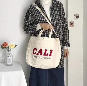 Large Capacitu Lady Shopping Bag Plush Handbags Casual Cool Girl Crossbody Bag Women Winter Bags Fashion Collocation Style