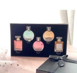 Perfume Set 5pcs Chance No Miss 5 Lady Women Perfume Fragrance Long Lasting EDP Parfum 3pcs 4pcs Gift Box Set Top Quality Christmas
