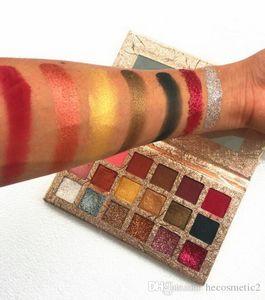 18 Color Diamond Eyeshadow Palette Glitter Eye Shadow Palette Pigment Matte Eye Shadow Golden Palette Free Shipping