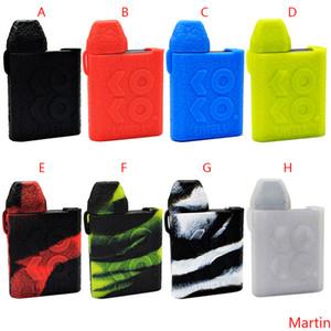 Uwell Caliburn KOKO Silicone Case Rubber Colorful Sleeve Protective Cover Skin For Uwell Caliburn KOKO Pod System Cartridge Kit Box Mod DHL
