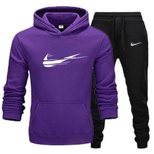 Plus Size Herren Sportswear Herren Hoodie Hosen Frauen Sweat Shirt Pullovers Herren Casual Tennis Sport Designer Sportswear Anzüge