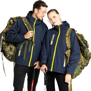 MINDYGOO hohe Qualität Großhandel OEM kundenspezifische Designer Frauen 3 in 1 Sport-Pelz-Fleece hohe Art und Weise unten Bomber Herren Winterjacken