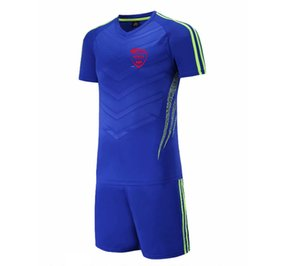 20 21 New Nîmes Olympique Jersey Pant Kids Soccer Training Set Adult Outdoor Sportswear Men's Short Suits