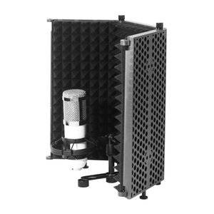 Portable Folding Studio Microphone Isolation Shield Recording Sound Absorb Foam Panel Soundproof Wall Stickers Sponge Studio Foam WS-03