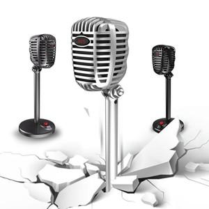Micrófono de la Computadora Jack de 3,5 mm + USB ajustable libremente discurso del estudio del micrófono del juego de charla USB del ordenador portátil del PC de sobremesa