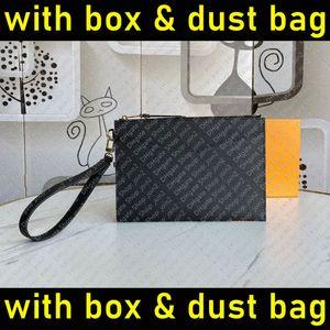 M68705 Pochette Melanie MM Tasarımcı Bayan Debriyaj Bileklik Akşam Kayışı Cüzdan Telefon Kılıfı Çanta Zippy Kart Tutucu Sikke Çanta Accessoires
