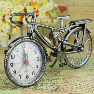 طالب الأسرة الأزياء على مدار الساعة المعدنية المعادن ريترو دراجة شكل المنبه المنزلية تأثيث المنزل الديكور أصالة جديد 6 5YL J2