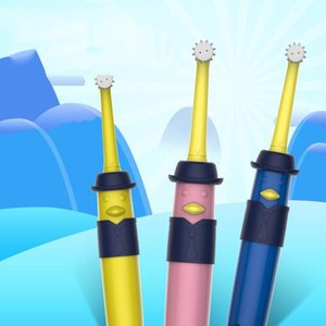 NEW Children Cartoon Rotating Soft Hair Electric Toothbrush, Style:7-14 Years Old