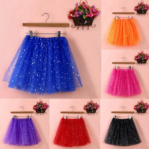 2020 Girl Skirts Womens Tulle Skirt Pleated Gauze Short Adult Tutu Dancing Casual Solid Ladies School Skirt In Eleven Colour 14