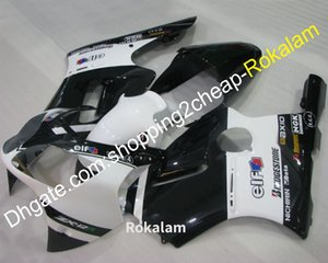 Motorbike Fairing For Kawasaki Ninja ZX12R 00 01 ZX-12R ZX 12R 2000 2001 ABS White Black Motorcycle Body Kit (Injection molding)