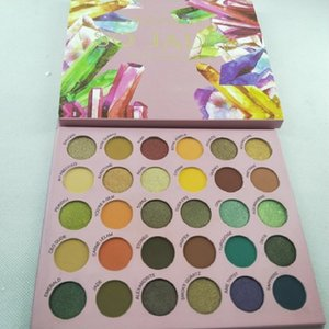 in stock !New Hot Makeup moji so jaded 30 color eyeshadow palette waterroof makeup eye shadow palette free shipping