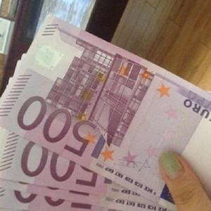16 100 пучков магических реквизита банкнот моделирования 500 банкнот евро распылять деньги пистолет евро игры реквизит банкнот