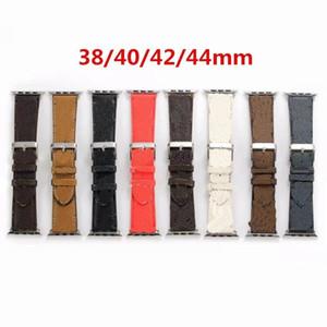Yeni Tasarım Deri Askısı Apple Watch Band Serisi için 6 5 4 3 2 40mm 44mm 38mm 42mm Bilezik IWatch Kemer
