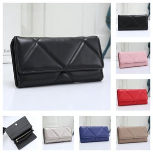 Factory wholesale long wallets women leather purse female lady standard wallets Credit Card designer size 20*3*10 cm