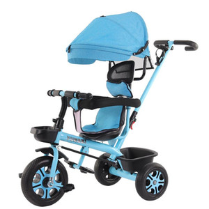 Baby stroller children's tricycle baby bicycle baby trolley 1-3-5 children's tricycle