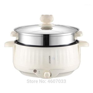 Multifunctional Electric Cooker Heating Pan stew Cooking Pot Machine Hotpot Noodles Eggs Soup Steamer rice cooker1