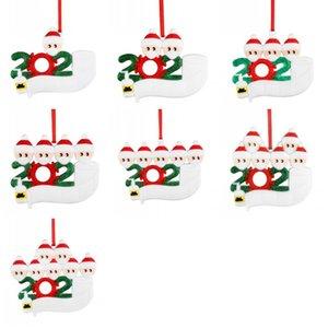 Prezzo di fabbrica Hanging Natale a sospensione 2020 fai da te personalizzato di Natale del PVC Hanging Alberi di Natale i pendenti decorativi
