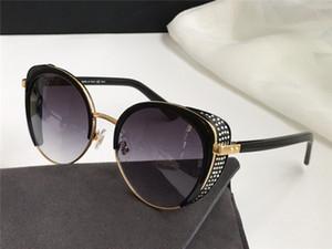 Neue Modedesign Sonnenbrille Gabby / F / S Bezaubernde Katze Gläser Rahmen Eye Mask Inlaid Crystal Pop und großzügige Art UV400 Schutzbrille