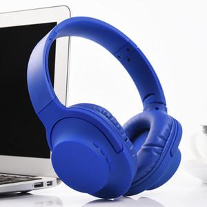 فوق الأذن بلوتوث لاسلكية / السلكية سماعات مع ميكروفون لينة غطاء للأذنين سائق 40MM للهواتف TV PC سماعة الرياضة